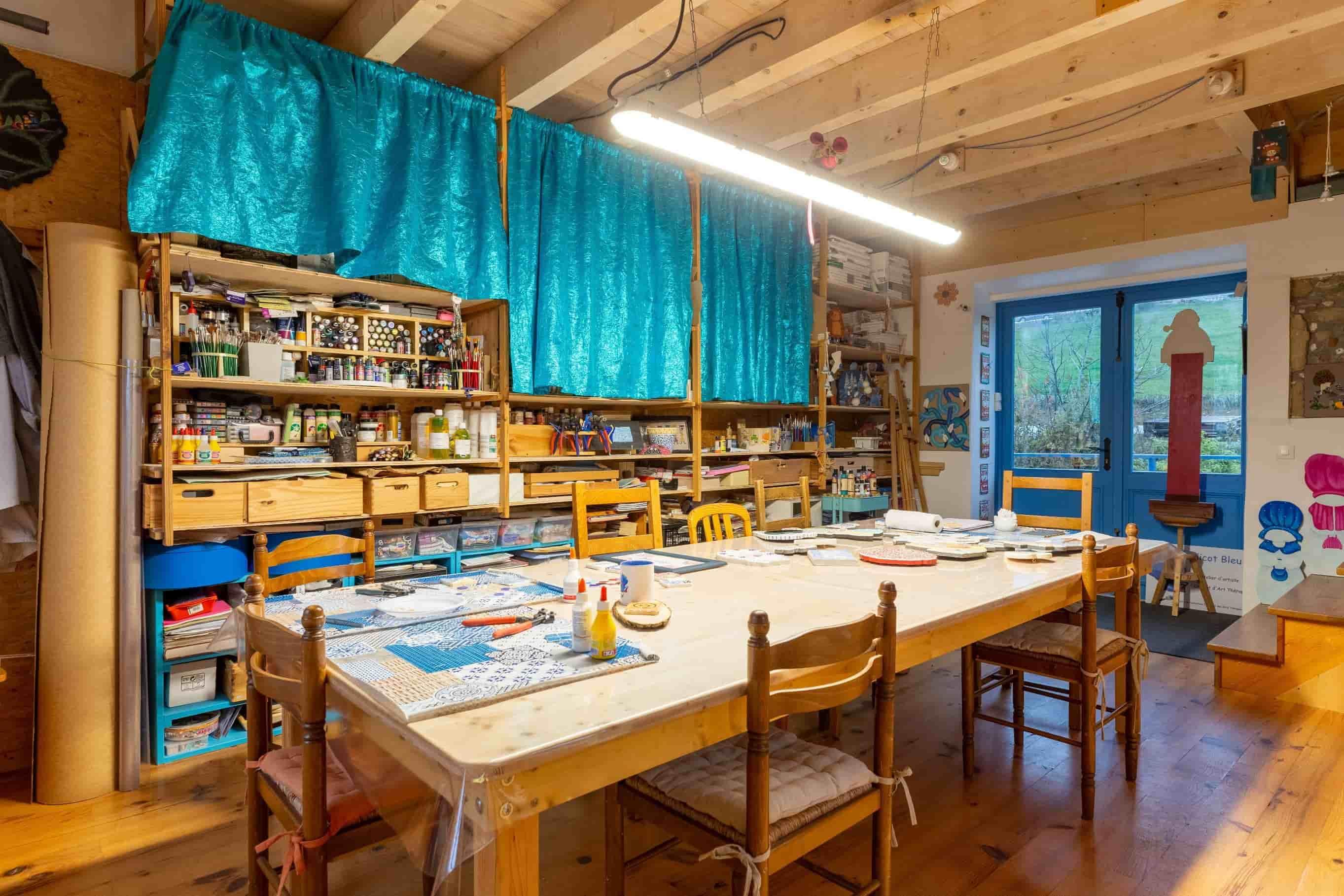 Un atelier atypique